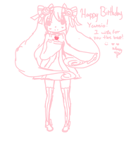 HBD Yamis by StarryPooh