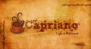 Capriano-card ' front ' by AndrewHeSham