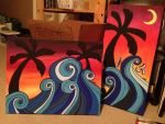 Waves n Sunsets by c-t-supahfly