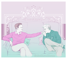 Mystrade - Your Majesty by RedPassion