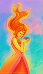 Flame Princess by AdventureIsOutThere