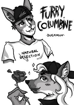 Anime Ass Furry Columbine by 14duckmin88
