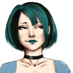 Gwen - Total Drama Series by pourquoii
