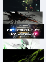 C4D Render Pack 1 by jimkimjat