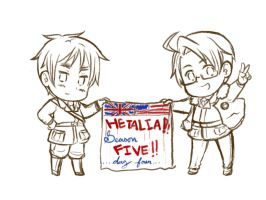 Lineart- Hetalia: Day four! by NessieMcCormick