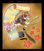 Year of the Tiger by AndrePaz
