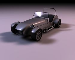 Caterham 7 WIP by usere35