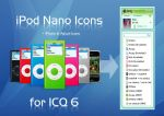 iPod Nano Icons for ICQ6 by scorpion919