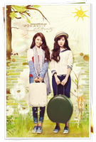 SOOYOUNG AND SEOHYUN - BEAUTIFUL GRADENS! by bonsociu009