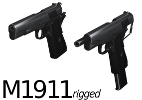 M1911 - Rigged by ProgammerNetwork
