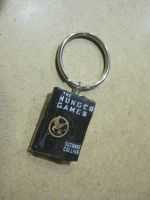 The Hunger Games book charm by ichigoluv