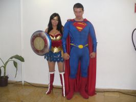 Super friends cosplay 2 by Kryptoniano