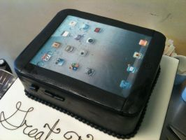 iPad Cake by Spudnuts
