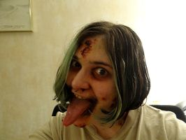 Infected psycho make up 2 by TwoToneBone