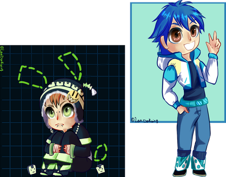 Commish: Dmmd babes by PastelChainsaw