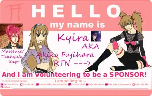 Ready and Willing... to Sponsor by KyiraStarborne