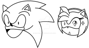 insane sonic and bipolar amy boring XD by deathsbell