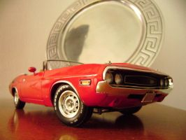 dodge challenger rt 70 scale 1 18 by EnriqueGomez