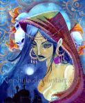 Sheherazade-ORIGINAL TO SELL by Nephyla