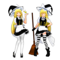 Double Marisa by PachiPachy