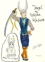 Vergil the White Rabbit by KibaDVahnGoth