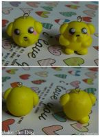 Jake The Dog - Polymer Clay - by HalfAsianNoobCake