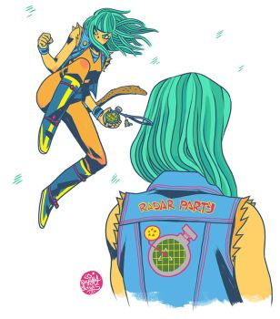 Bulma Ball Z by reyyyyy