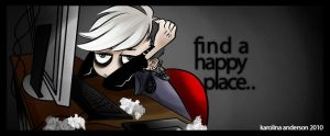 _find a happy place by karincoma