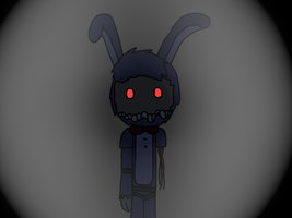 Withered Bonnie... by PirateEnderFox