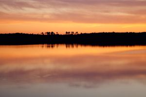 Colors of evening sky by khmaria