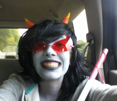 more terezi cosplay omg by Stained-By-Rainbow