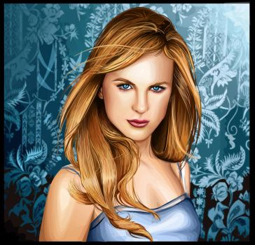 Nicole Kidman by Artist-in-Despair