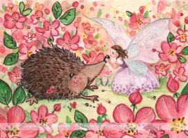ACEO Beloved Friend by JoannaBromley