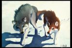 Us Wolves by Unicornia