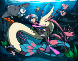 Dawn's Underwater Adventure