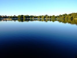 Peaceful, Clean Lake by JenCarpeDiem