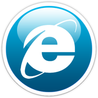 IE glass dock icon by Superxero0