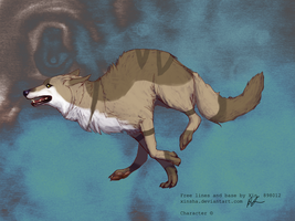 wolf adoptable 33 -CLOSED- by Black-pond-adopts