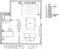 Mohinder's Apartmen by sixfuzzyslippers