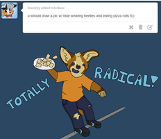 TOTALLY RADICAL BRAH by Miiroku