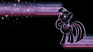 TwilightSparkle Glow Wallpaper by SmockHobbes