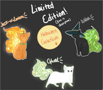 Halloween galacticats auction! (CLOSED) by Zivara