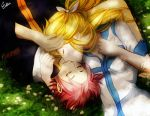 NaLu on grass by Esther-fan-world