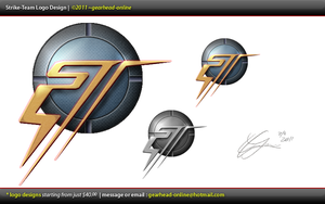 strike-team logo by gearhead-online