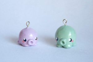 Octopus charms by kittykaya