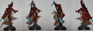 Eldar farseer by KB-Unlimited