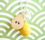 Pear Necklace by KawaiiCulture