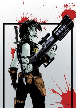 Domino by rafgraphicart