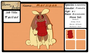 Pokemon of Avalon - Marzipan by BatLover800