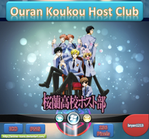 Ouran Koukou Host Club ICO & PNG by bryan1213